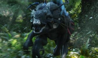 Thanator/Palulukan aus Avatar, 1:13 Resin 3D Druck Neytiri_Riding
